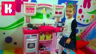 Кухня игрушечная с приборами Степ2 распаковка детской кухни игрушки Step 2 kitchen rise and shine(Распаковка игрушечной кухни Степ 2 с холодильником, духовкой, микроволновкой и плитой! Unboxing Step 2 toy kitchen rise..., 2015-11-20T18:18:12.000Z)