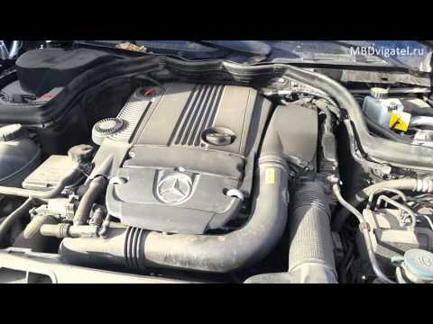 Неисправность двигателя Мерседес m271