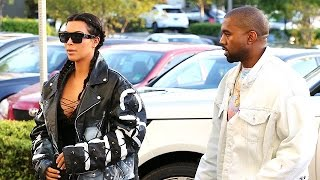 Kim And Kanye Are Styled Up For An Afternoon Movie Date