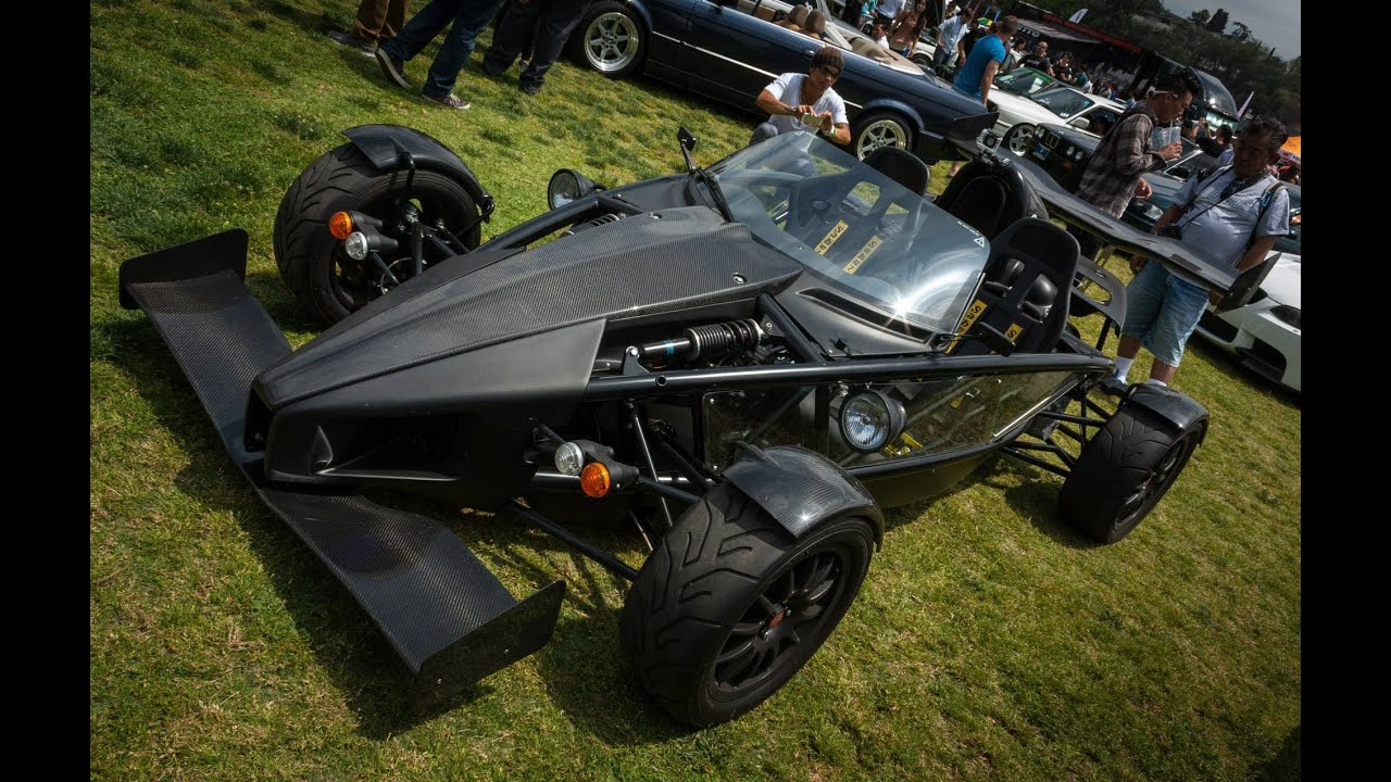 0-140 MPH! Ariel Atom 3 SuperCharged Acceleration FAST! - YouTube