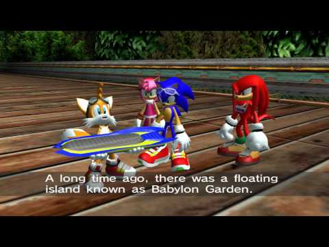 Sonic Riders (GC) Heroes Story