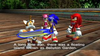 Sonic Riders (GC) Heroes Story