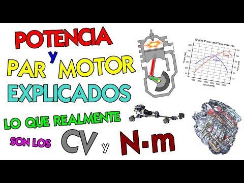 Potencia y Par motor / Torque Explicado: Significado de los conceptos físicos aplicados al coche