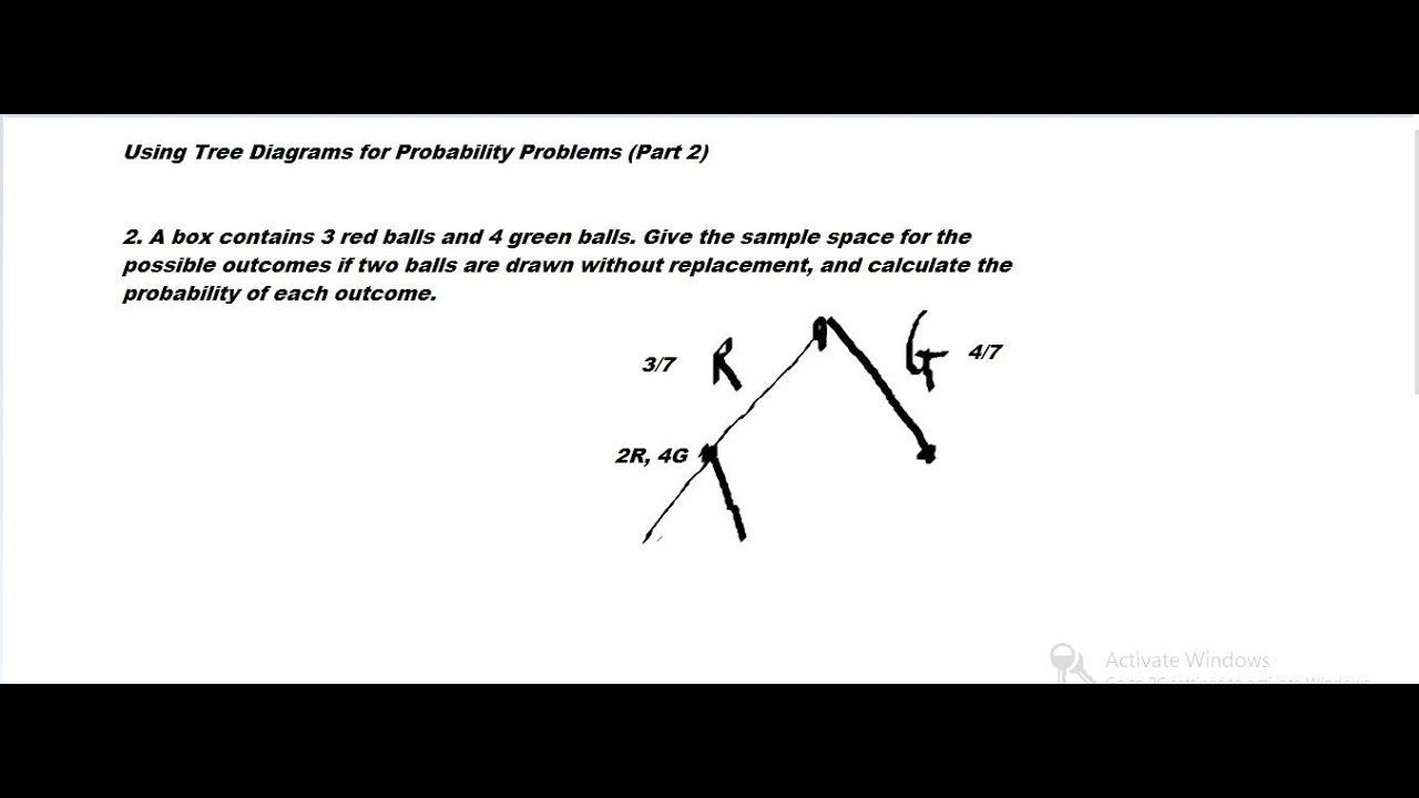 Using tree diagrams for probability problems part 2 youtube using tree diagrams for probability problems part 2 ccuart