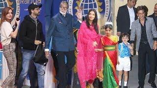 Amitabh, Aishwarya - Aradhya, Shahrukh - Abram, Hritik-Suzzane & Many Celebs @Annual Day Of Der Kids