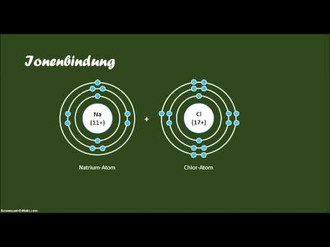 Ionenbindung
