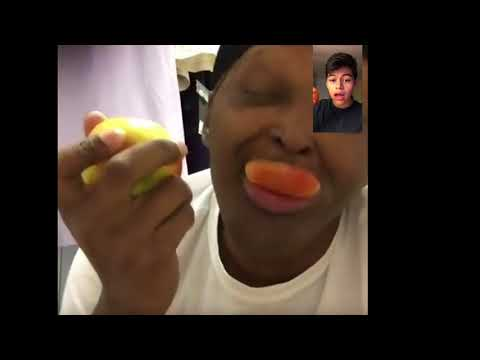 HOW TO BITE AN APPLE THE RIGHT WAY ft Marcus Oglesby