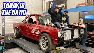 The Twin Turbo S10 Hits The Dyno In Full Savage Mode And Makes HUNDREDS HP More Than Expected!