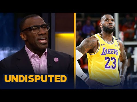 Lakers on verge of elimination after blowout loss to Suns in GM5 — Skip & Shannon   NBA   UNDISPUTED