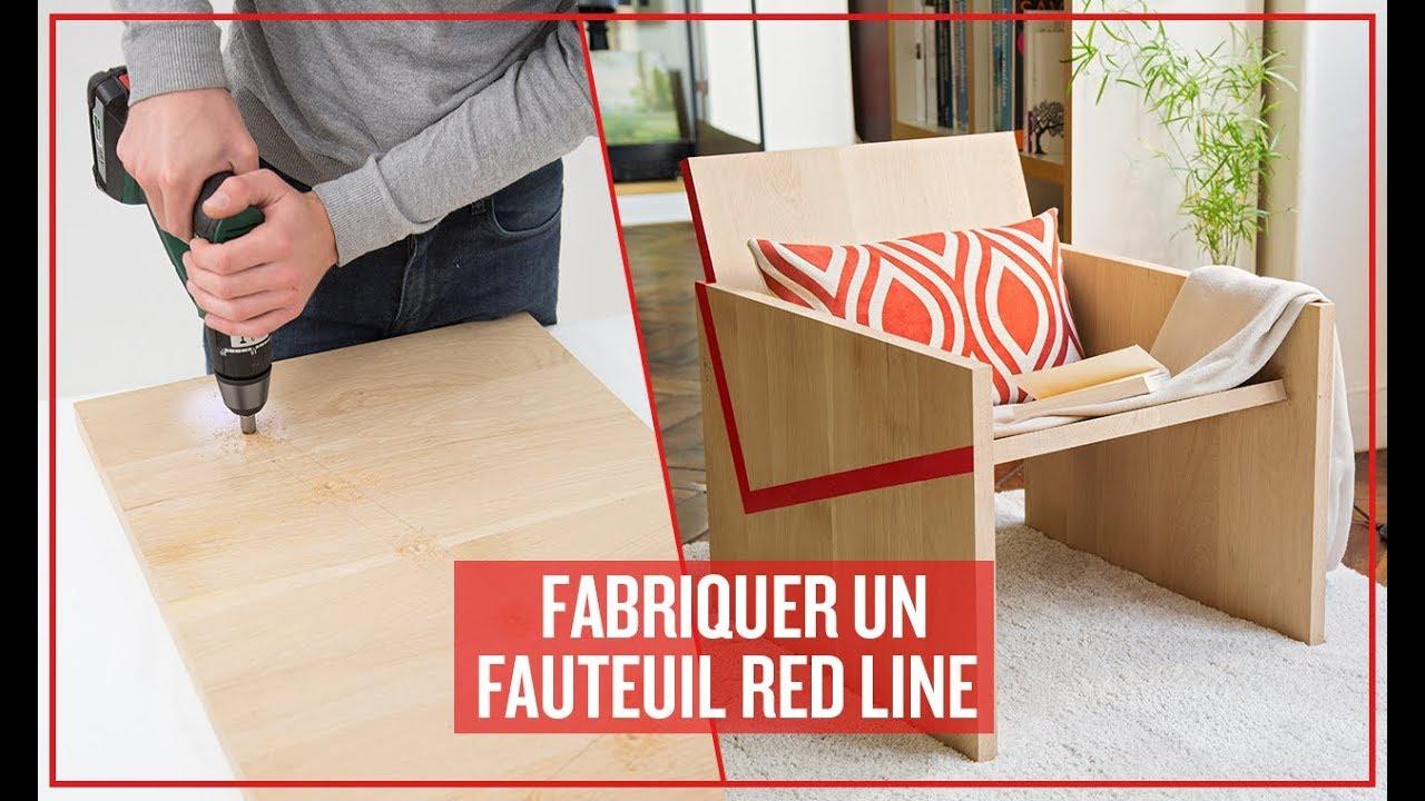 Fabriquer Un Fauteuil Red Line Youtube