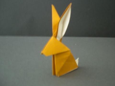 origami rabbit youtube. Black Bedroom Furniture Sets. Home Design Ideas