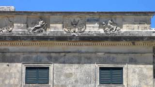 Corfu Town: Palaia Anaktora - architectural details
