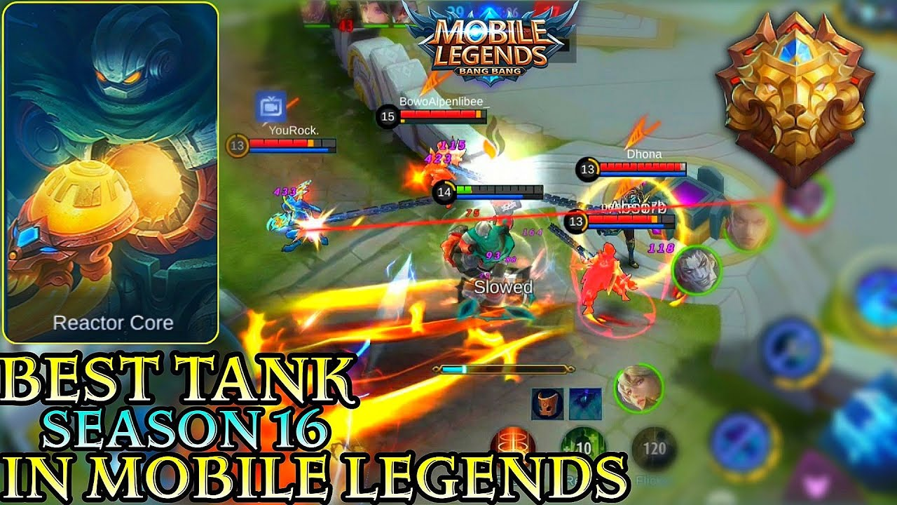 New Season New Tank Atlas - Mobile Legends Bang Bang