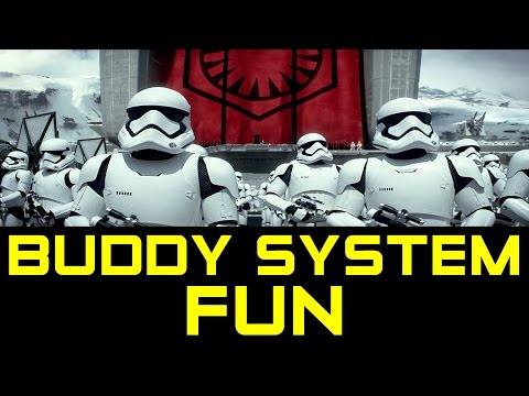 Army of Two! Buddy System Fun in Star Wars Battlefront (Battlefront Gameplay)