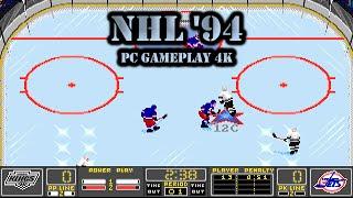 Old Games - NHL '94 (NHL Hockey DOS) / #45 LA Kings League