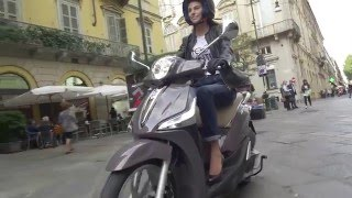 New Piaggio Liberty   - action