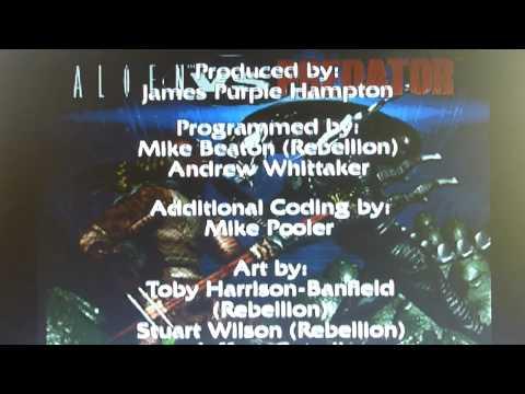 Alien vs Predator (AvP) 1994 ATARI JAGUAR - Intro, credits, high scores