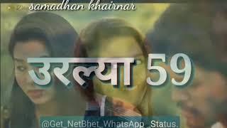 New status Aali tar aali nahi tar geli udat ----2018_____