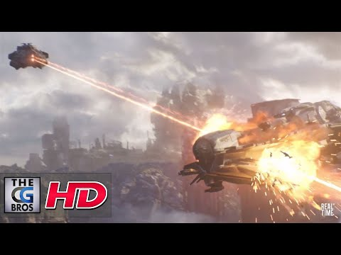 """CGI 3D Animated Trailers: """"Dreadnought"""" - by RealtimeUK"""