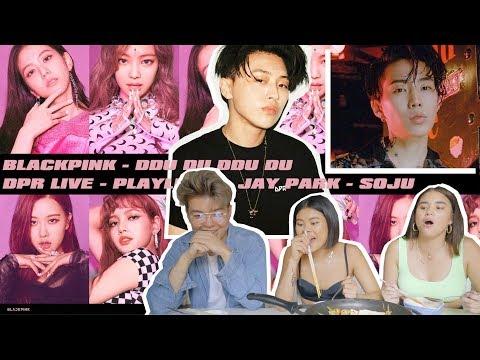 BLACKPINK - '뚜두뚜두 (DDU-DU DDU-DU)' M/V, DPR LIVE & JAY PARK [REACTION]   Music Mukbang
