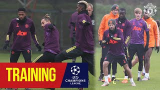Training   Reds train ahead of RB Leipzig Champions League clash   Manchester United