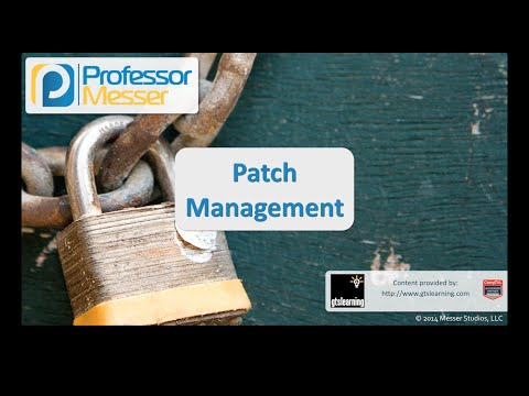 Patch Management - CompTIA Security+ SY0-401: 4.3