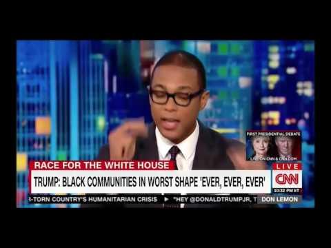 Don Lemon DESTROYS Corey Lewandowski and Dumb Donald Trump on Black Outreach