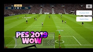 Download PES 2019 Mobile Beta Insane Graphics First Gameplay on Poco F1 Android