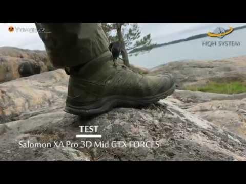 Forces Youtube 3d Test Salomon Gtx Xa Mid Pro xtQrshdC