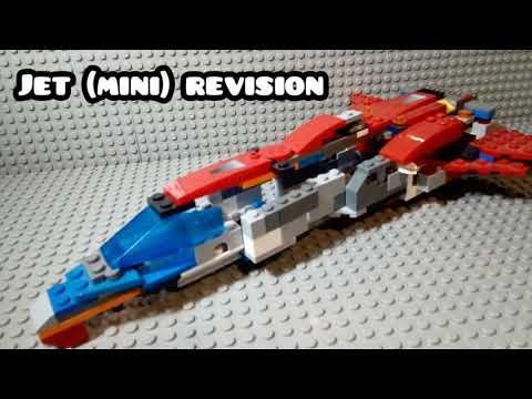 Lego jet MINI review