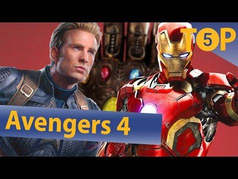 Zeitreisen und Rückkehr der Toten - Ist das der Plot von Avengers 4? | Top 5
