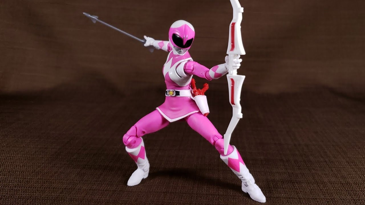 """Power Rangers Lightning Collection Mighty Morphin Pink Ranger Action Figure 6/"""""""