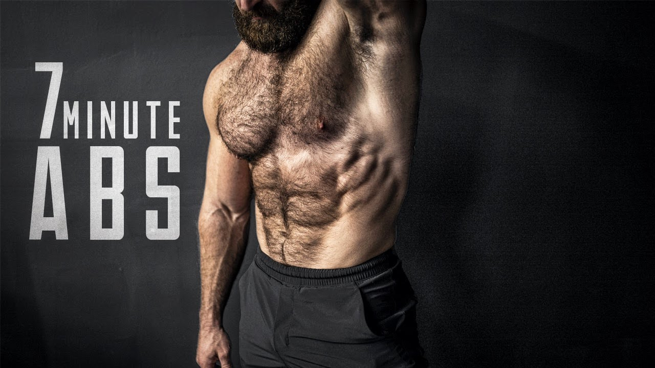 7 MINUTE ABS Workout To Get You A 6 Pack (No not 6, I said 7!)