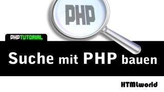PHP Tutorial: Suche mit PHP gestalten // deutsch Mp3