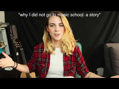 Why I didn't go to music school