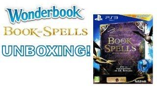 Wonderbook Book Of Spells - Sony Playstation 3 - UNBOXING