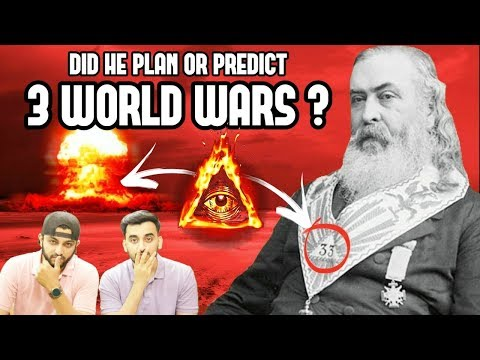 Did He Plan the 3 WORLD WARS? - ALBERT PIKE 33rd° ILLUMINATI GRANDMASTER! (Hindi Urdu)