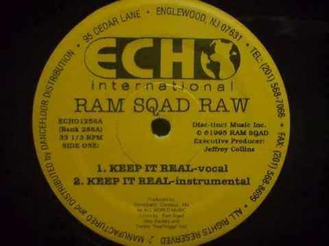 Ram Sqad Raw (Ram Squad) - Keep It Real (Instrumental)