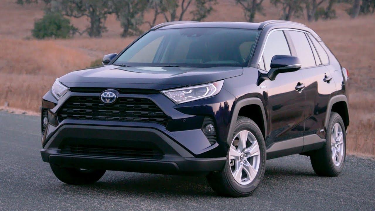 2019 Toyota Rav4 Xle Hybrid Blueprint Youtube