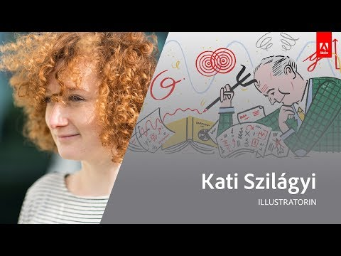 Live Illustration mit Kati Szilágyi - Adobe Live 2/3