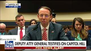 Gohmert Questions Deputy AG Rosenstein in Judiciary Committee Hearing