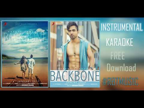 KARAOKE Hardy Sandhu   Backbone   Jaani   B Praak  Latest Romantic Song 2017   INSTRUMENTAL