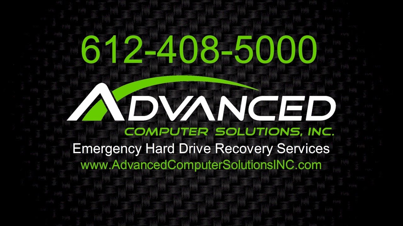 emergency hard drive recovery services minneapolis mn emergency