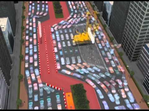 Ilustrasi Pembangunan Stasiun Bawah Tanah Mrt Jakarta Youtube