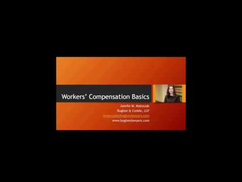 Workers' Compensation Basics for Beginners FULL WEBINAR