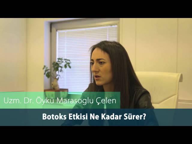 Dr.Öykü Maraşoğlu Çelen - Botoks Etkisi Ne Kadar Sürer ?