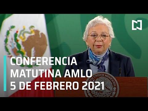 Conferencia matutina AMLO / 5 de Febrero 2021