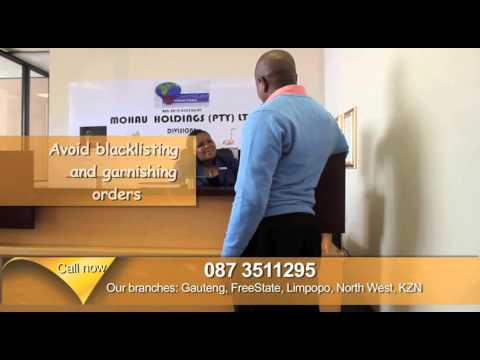 Mohau Debt counselling advert