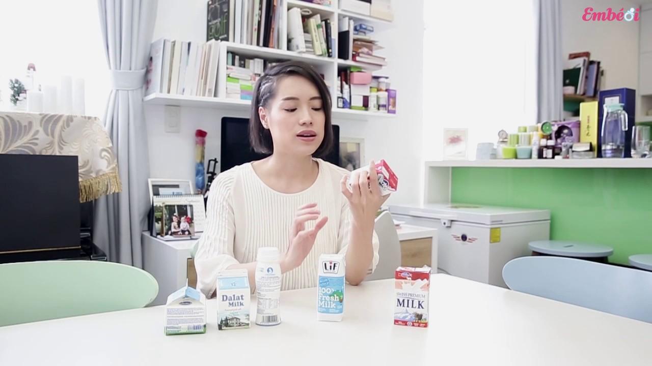 Em bé ơi  #31 – Chọn sữa tươi cho em bé sau 1 tuổi