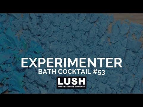 LUSH COSMETICS Bath Cocktail #53: Experimenter Bubble Bath